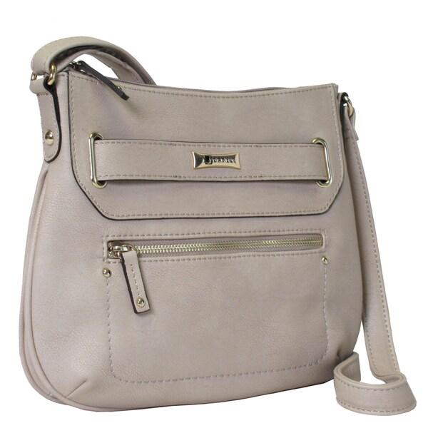 Joanel Beige Crossbody Handbag