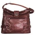 Joanel Black Leather Handbag