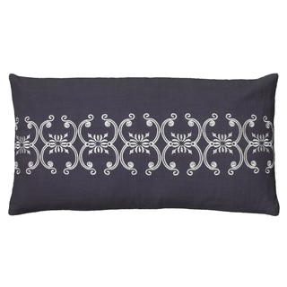 Rizzy Home Scroll Pattern Throw Pillow