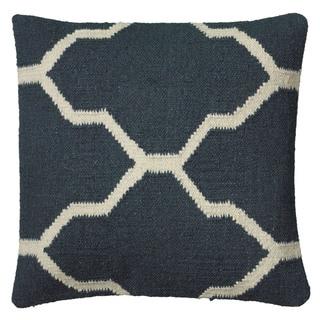 Rizzy Home 18-inch Woven Moroccan Throw Pillow