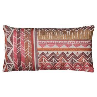Rizzy Home Arabesque Brick Throw Pillow