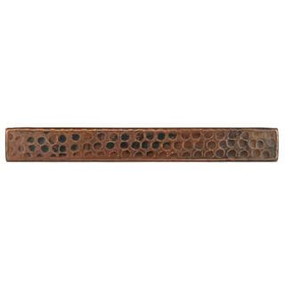 Premier Copper Products 1-inch x 8-inch Hammered Copper Tile (Set of 4)