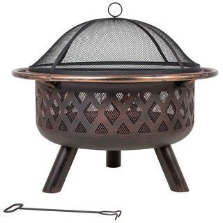 LaHacienda Indiana Bronze Firepit