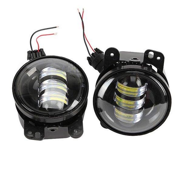 Jeep Wrangler 30-Watt Cree LED Fog Lamp