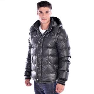 Nuage Men's Black Down Puffer Jacket
