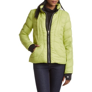 Halifax Apple Green Down Packable Coat