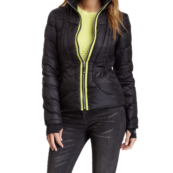 Halifax Women's Black Down Packable Puffer Coat