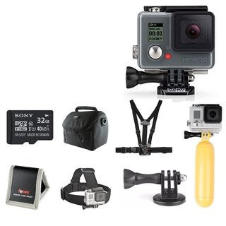 GoPro HERO+ LCD Camera Bundle