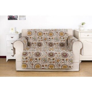 Greenland Home Fashions Andorra Furniture Loveseat Protector