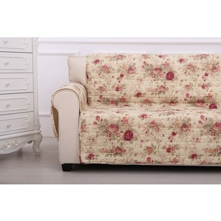 Greenland Home Fashions Antique Rose Furniture Loveseat Protector