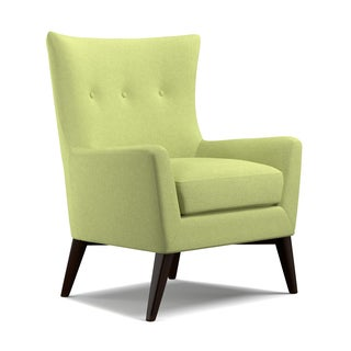 angelo:HOME Kristy Celery Green Linen Arm Chair