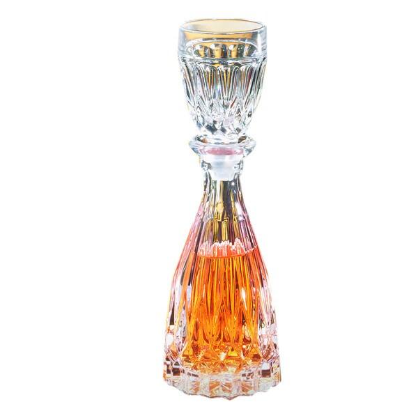 Fifth Avenue Glass Mouthwash Bottle