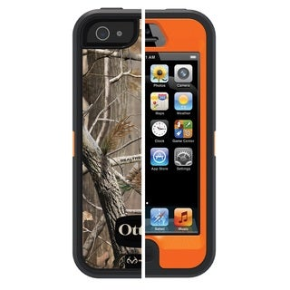 OtterBox Defender Series Case for Apple iPhone 5 - AP Blazed (No Holster)