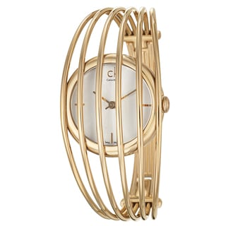 Calvin Klein Women's K9923720 Gold Watch