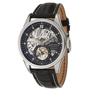 Armand Nicolet Men's 9620S-NR-P713NR2 Leather Watch
