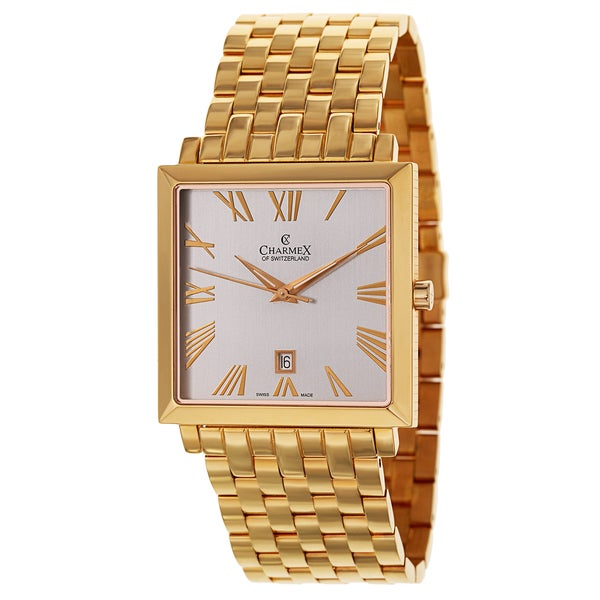 Charmex Men's 2270 Goldtone Watch