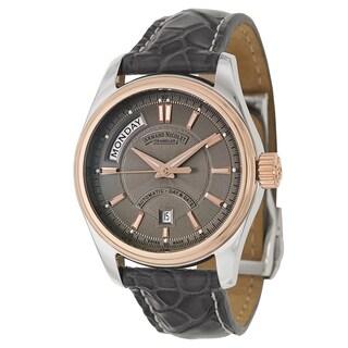 Armand Nicolet Men's 8641A-2-GR-P974GR2 Leather Watch