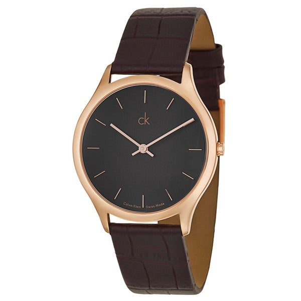Calvin Klein Men's K2621530 Leather Watch