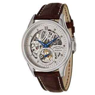 Armand Nicolet Men's 9620S-AG-P713MR2 Leather Watch