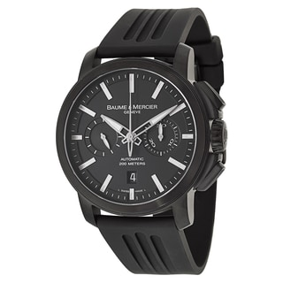Baume & Mercier Men's MOA08853 Rubber Watch