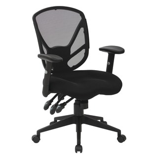 Black Saddle Seat Office Chair