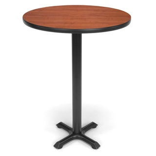 30-inch Round X Style Base Cafe Table