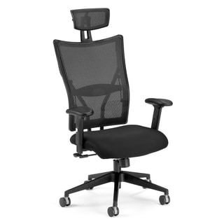 Talisto Series Executive High-Back Fabric & Mesh Chair