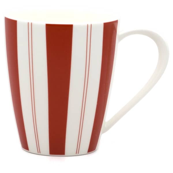 Red Vanilla Panache Rouge 12-ounce Mug (Set of 4)
