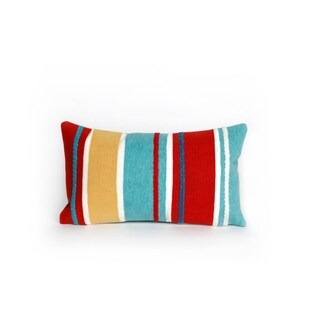 Maritime Stripe Throw Pillow