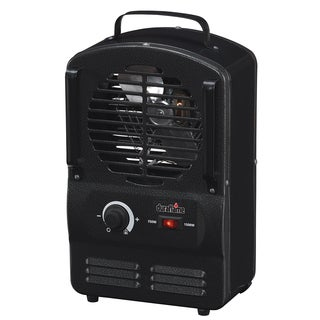 Duraflame DFH-UH-3-T Black Portable Electric Compact Durable Radiant Utility Heater