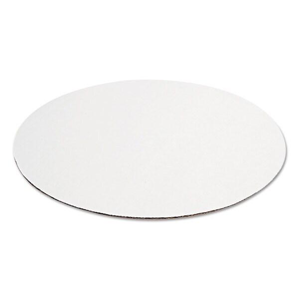 Pratt Brown/White Pizza Circles (Pack of 100)