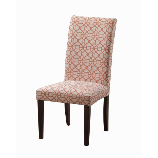 Oh! Home Ennis Orange Parson Chair (Set of 2)