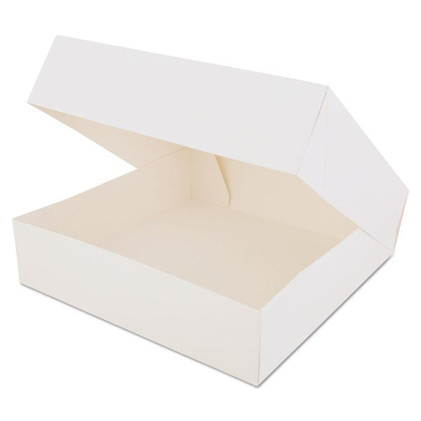 SCT Window White Paperboard Bakery Boxes (Pack of 200)