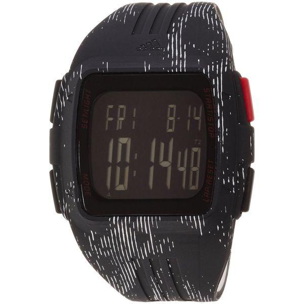 Adidas Unisex ADP3184 'Duramo' Black Polyurethane Watch