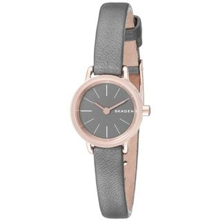 Skagen Women's SKW2359 'Hagen' Grey Leather Watch