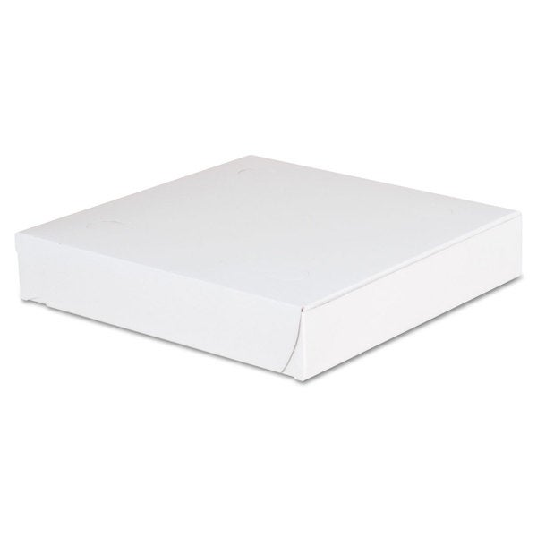 SCT Lock-Corner White Pizza Boxes (Pack of 100)