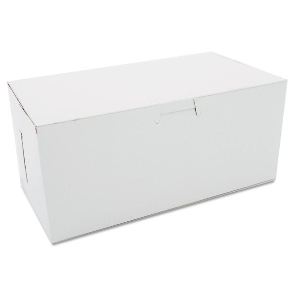 SCT Non-Window White Bakery Boxes (Pack of 250)