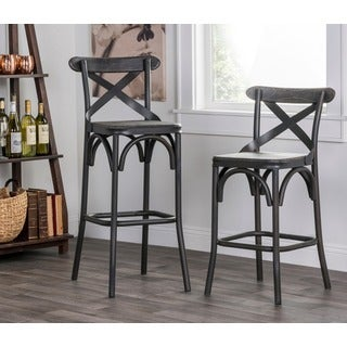 Dixon Rustic Stony Grey Counter Stool