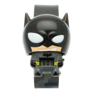 BulbBotz DC Comics Super Heroes Kid's Light Up Batman Watch