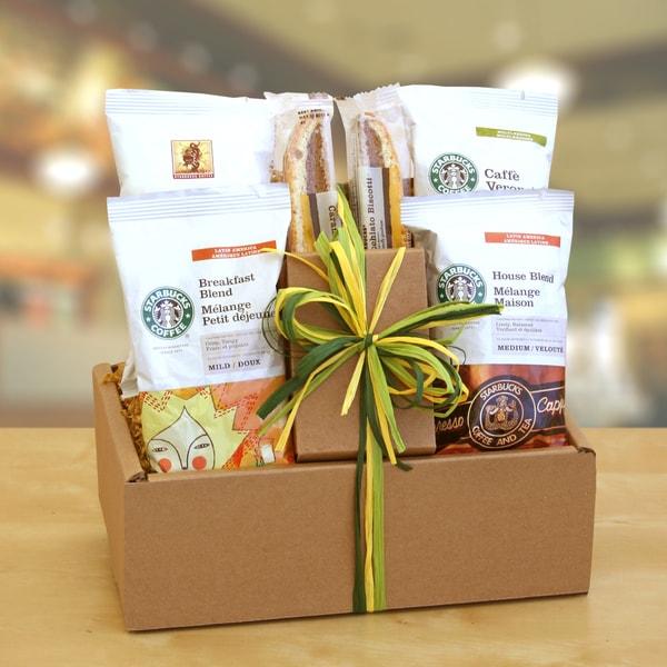 California Delicious Starbucks Sampler Gift Box 16520263