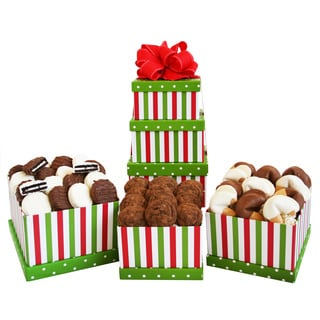 California Delicious Holiday Striped Tower