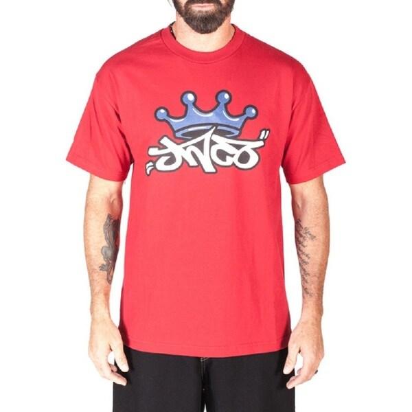 JNCO Men's Red Crown Tee