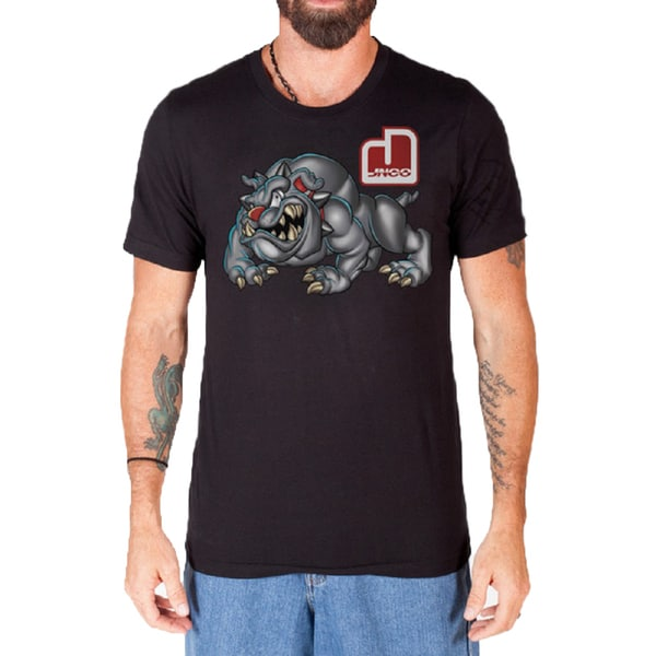 JNCO Men's Bulldog Graphic T-Shirt