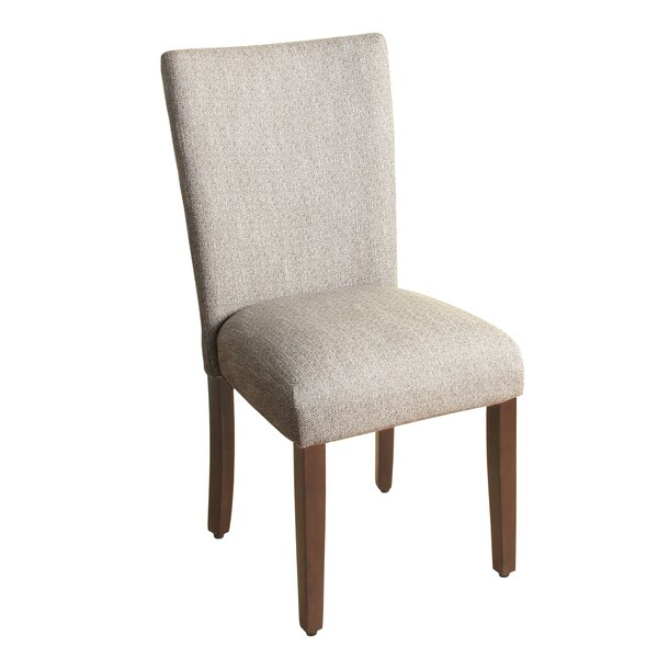 homepop textured parson dining chair glenbrier tweed single