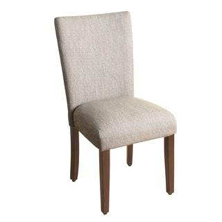 HomePop Textured Parson Dining Chair - Glenbrier Tweed - Single
