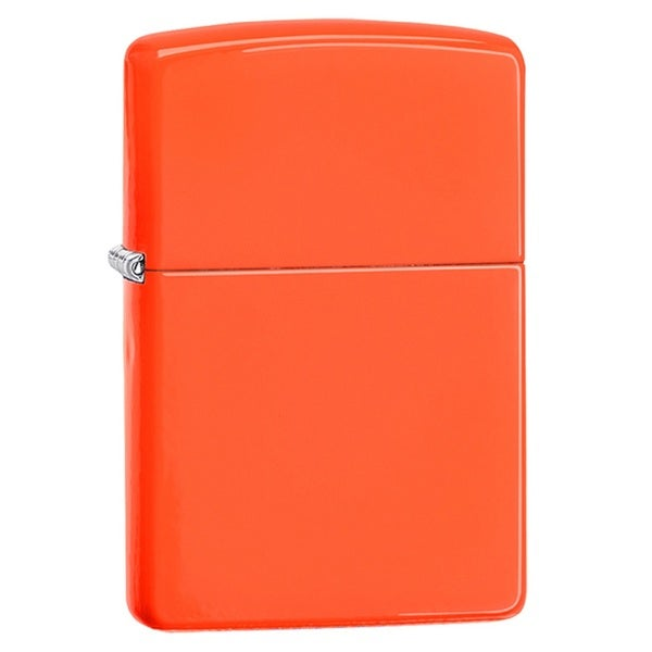 Zippo Classic Neon Orange Lighter