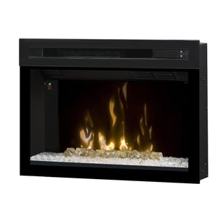 "Dimplex North America 25"" Multi-Fire XD Electric Firebox with Glass Ember Bed"