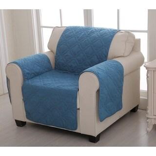 Greenland Home Fashions Saratoga Teal Furniture Armchair Protector