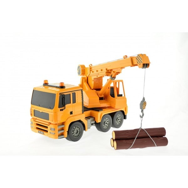 E516-003 1:20 Scale RC Crane Truck with Lights and Sound
