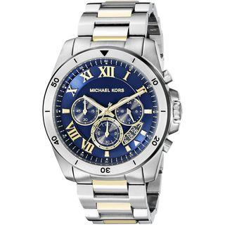 Michael Kors Men's MK8437 'Brecken' Chronograph Stainless Steel Watch